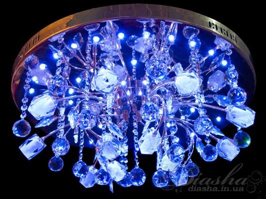Галогенные люстры со светодиодной подсветкой, оптом и в розницу с доставкой по всей Украине Люстры оптом