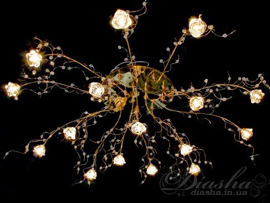LED люстры в Украине