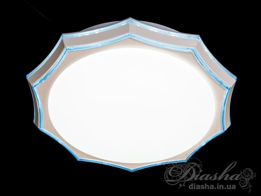 Светильник с регулируемым цветом свечения, 55WПотолочные люстры, Светодиодные люстры, светодиодные панели, Люстры LED, Новинки