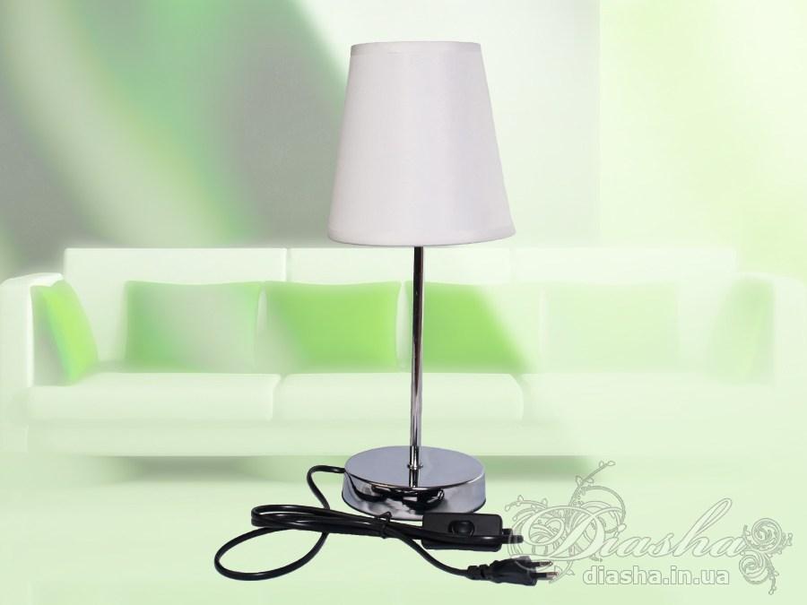 Недорогая настольная лампа с классическим абажуромНастольные лампы, Торшеры