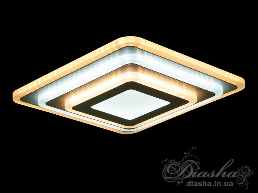 Перед Вами совсем новое и необычное исполнение плафонов, обрамляющих LED лампы. Такое бра запросто подойдет под любой интерьер – классический, современный и даже в стиле «хай-тек».Изящные накладные светодиодные светильники предназначены для создания яркого светодиодного освещения. И при этом являться украшением интерьера, а не просто утилитарным светильником как обычная светодиодная панель.Светодиодный светильник позволяет выбирать режим освещения от времени суток и выполняемых под его светом задач.