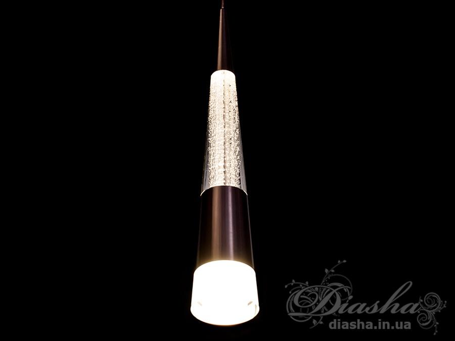 Современная светодиодная люстра, 8WСветодиодные люстры, Люстры LED, Подвесы LED, Новинки