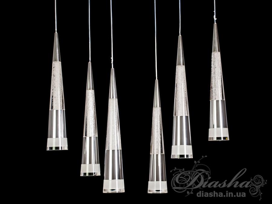 Современная светодиодная люстра, 50WСветодиодные люстры, Люстры LED, Подвесы LED, Новинки
