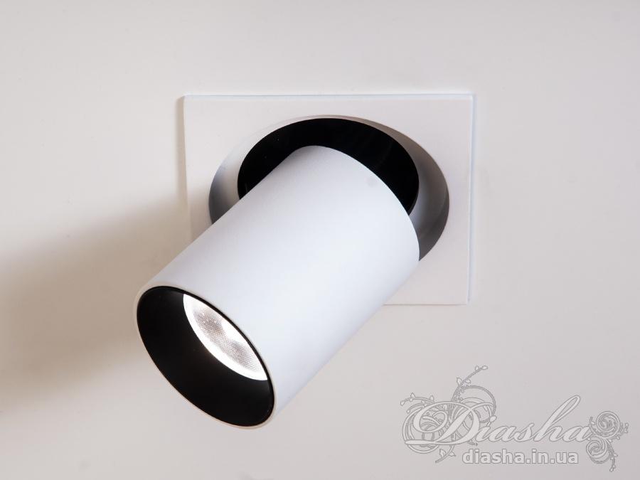 Телескопический направляемый точечный светильник, серия