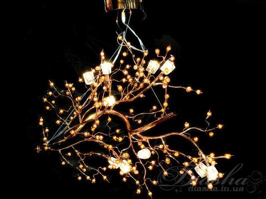 Галогенные люстры со светодиодной подсветкой, оптом и в розницу с доставкой по всей Украине