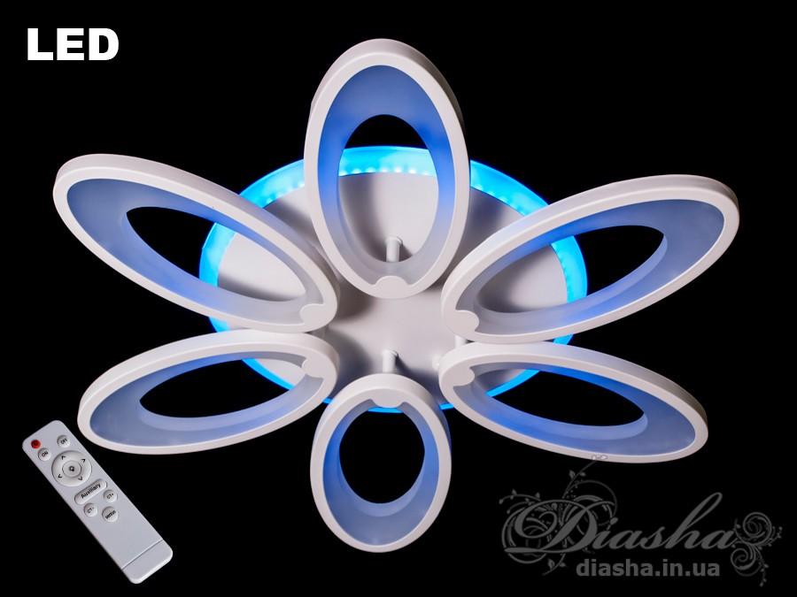 Світлодіодна люстра с диммером, 165WПотолочные люстры, Светодиодные люстры, Люстры LED, Потолочные