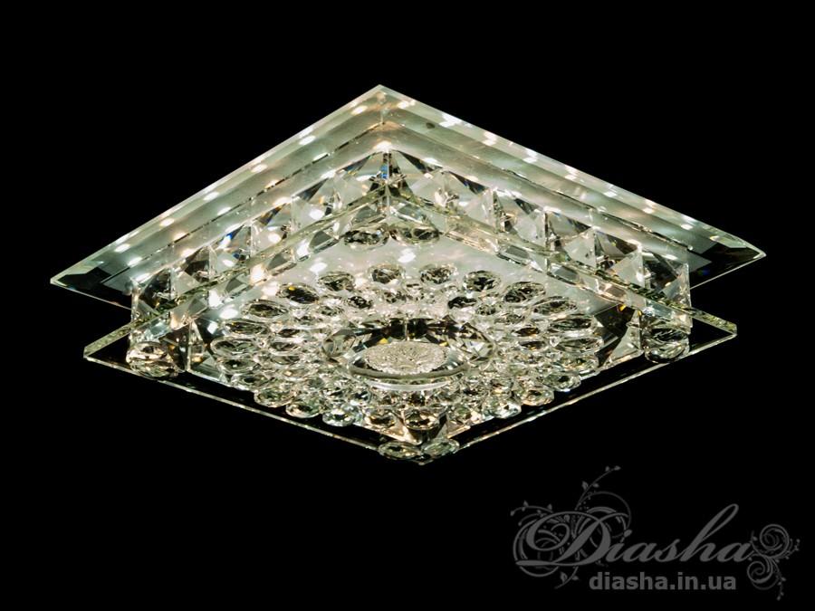 Хрустальный светодиодный точечный светильник 30ВтВрезка, Точечные светильники, Хрустальные точечные светильники