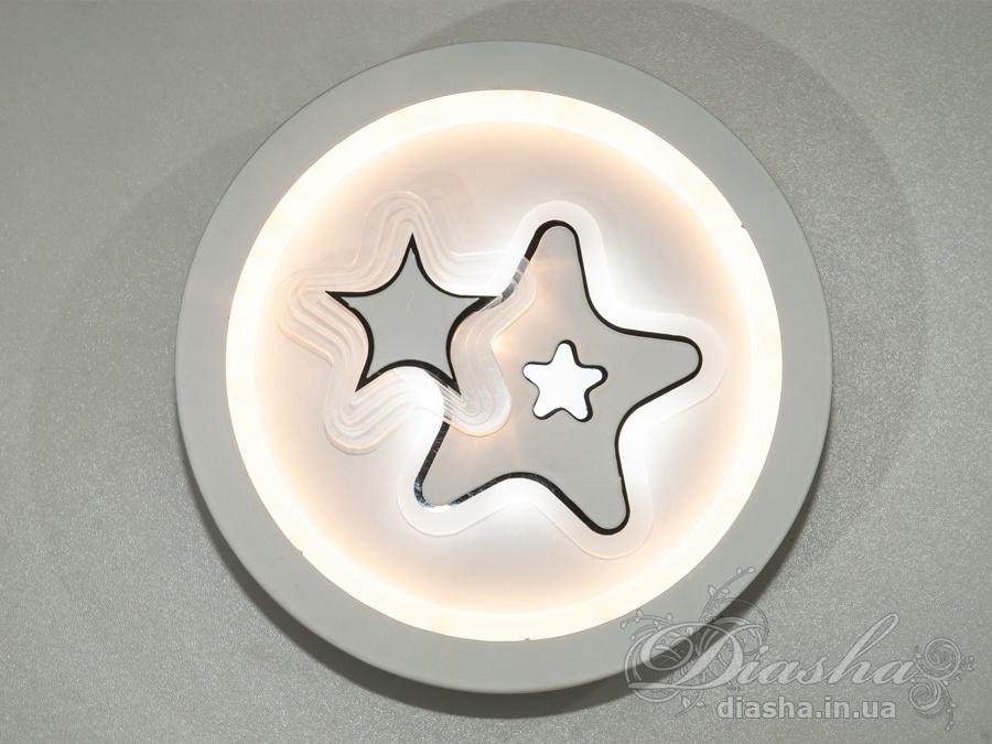 Перед Вами совсем новое и необычное исполнение плафонов, обрамляющих LED лампы. Такое бра запросто подойдет под любой интерьер – классический, современный и даже в стиле «хай-тек».Изящные накладные светодиодные светильники предназначены для создания яркого светодиодного освещения с регулируемой цветовой температурой от тёплого белого до холодного белого. И при этом являться украшением интерьера, а не просто утилитарным светильником как обычная светодиодная панель.Переключение спектров свечения светодиодной панели осуществляется простым выключением-включением.Светодиодный светильник позволяет выбирать режим освещения от времени суток и выполняемых под его светом задач.Светильники этой модели могут быть установлены в отверстие 100мм, или как накладные светильники. Весь необходимый крепеж в комплекте.