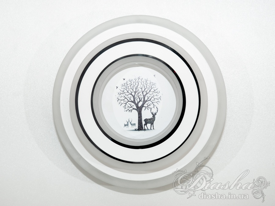 Светодиодный светильник настенно-потолочный 32WСветодиодные бра, светодиодные панели, Светодиодные люстры, Светильники-таблетки