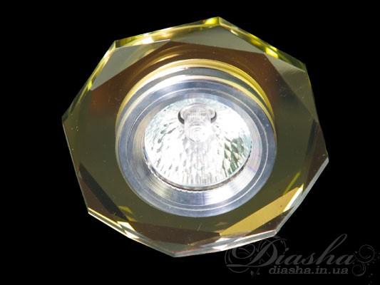 Хрустальный точечный светильникВрезка,Точечные светильники