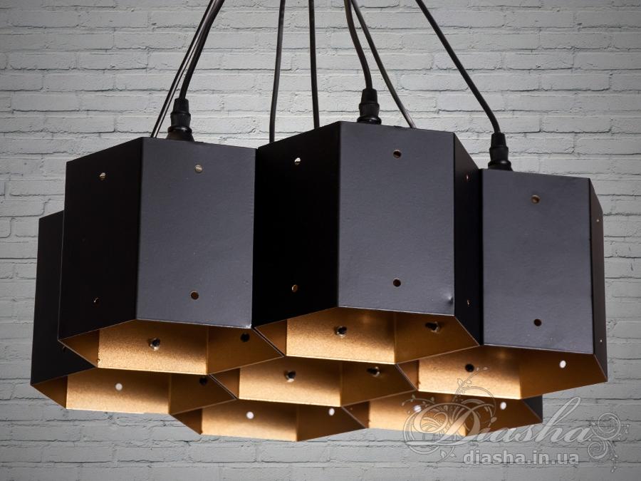Cветильник в стиле лофт отлично подходит для освещения столиков кафе, барных стойки, рабочей поверхности в кухне-студии и тд.Применение светильника-подвеса в стиле «лофт» весьма разнообразно. Этот светильник отлично подходит для подсветки рабочей поверхности. Минимализм этой люстры подчеркнет вашу индивидуальность и чувство стиля.Стиль «Лофт» сейчас очень популярен, его любят как творческие личности, так и весьма практичные люди, предпочитающие комфорт и простоту в интерьере. Люстры в стиле «лофт» идеально впишутся в современные дома, квартиры, кафе, арт-пространства, коворкинги, квеструмы. За счет регулировки шнура можно подобрать оптимальную высоту светильника.Идеально сочетается с лампой Эдиссона.Лампа в комплект не входит.