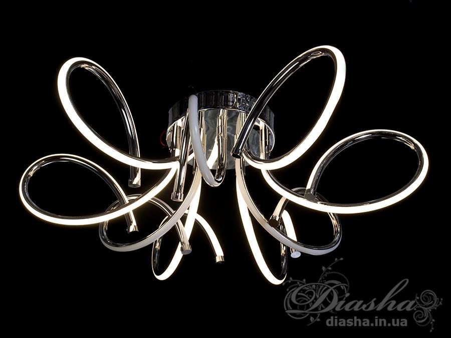 Современная светодиодная люстра, 75WПотолочные люстры, Светодиодные люстры, Люстры LED, Потолочные, Новинки
