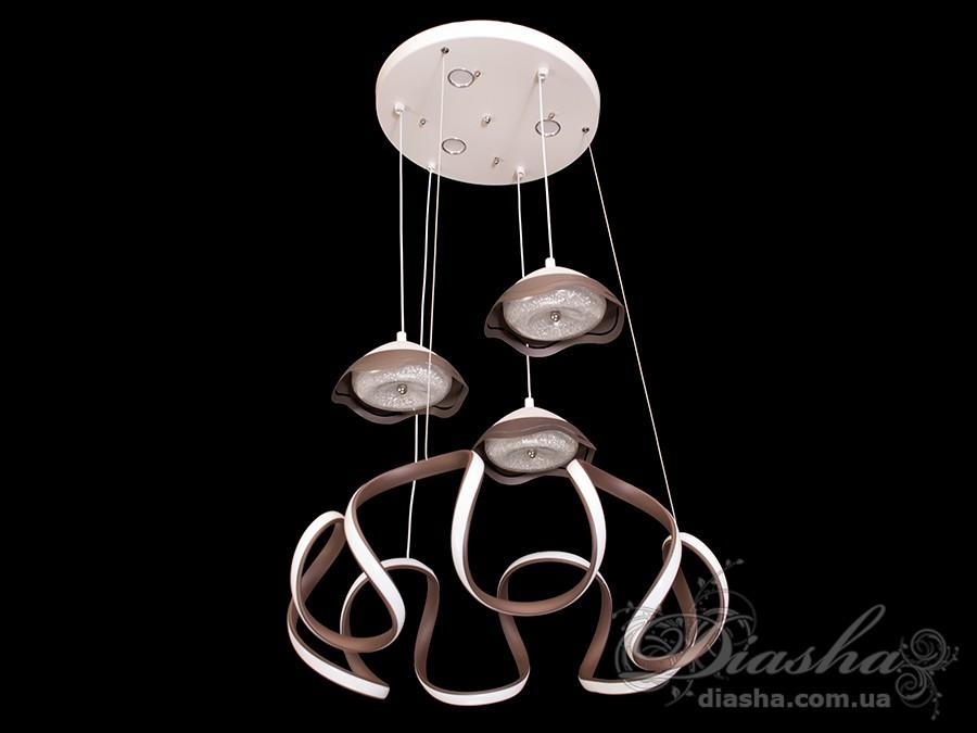 Современная светодиодная люстра, 90WСветодиодные люстры, Люстры LED, Подвесы LED, Новинки