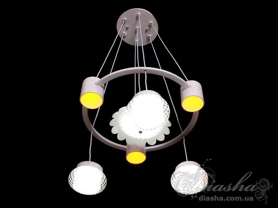 Современная светодиодная люстра, 60WСветодиодные люстры, Люстры LED, Подвесы LED