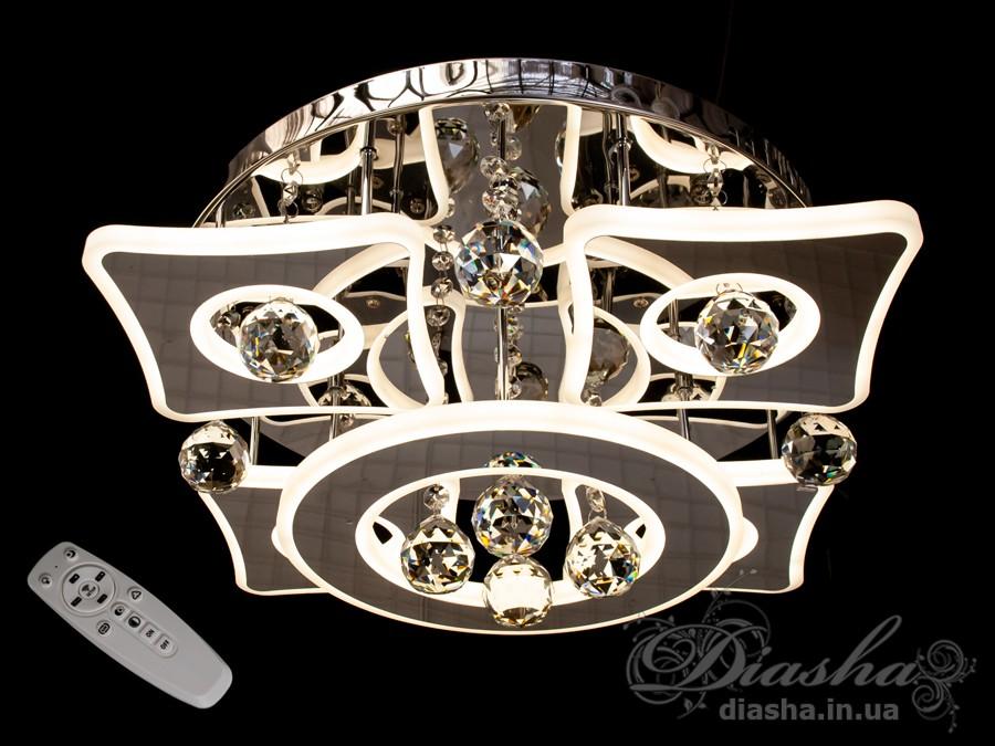 Светодиодные люстры «торт» с димером, 150WПотолочные люстры, Люстра