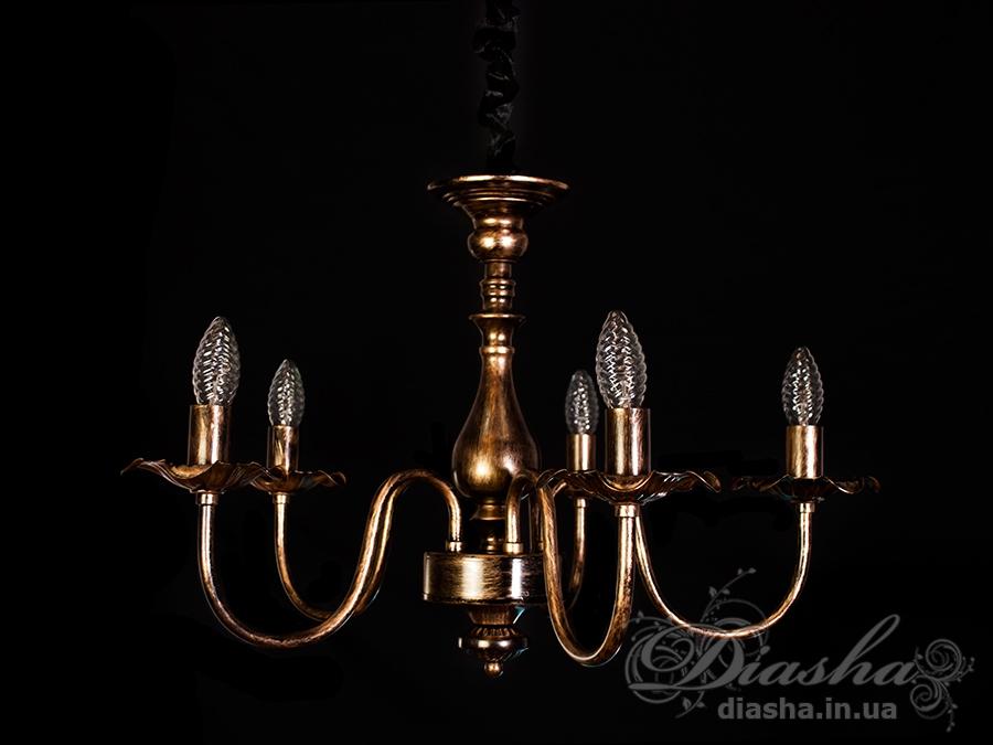 Классическая люстра на 5 лампЛюстры классика