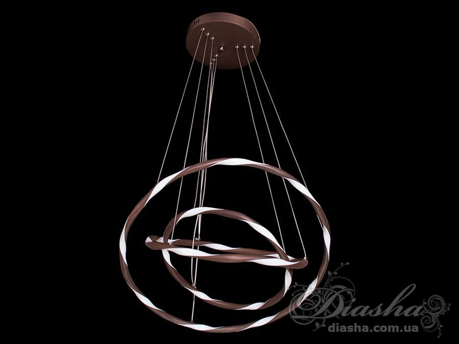 Современная светодиодная люстра, 65WСветодиодные люстры, Люстры LED, Подвесы LED, Новинки