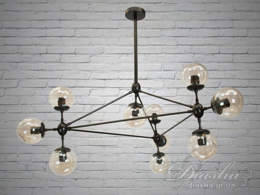 Люстра Loft на 10 лампСветильники