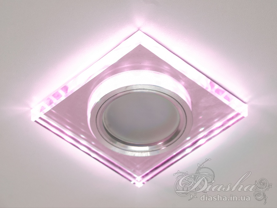 Светильник со встроенной светодиодной подсветкойВрезка,Точечные светильники, Точечные светильники MR-16, Новинки