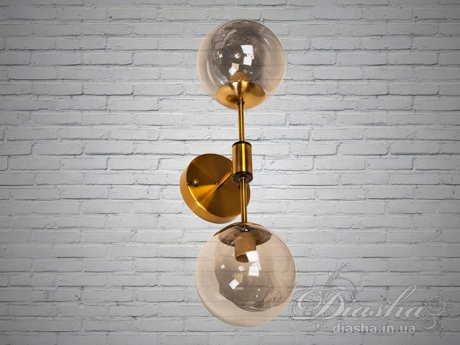 Светильник лофт на 2 лампыСветильники