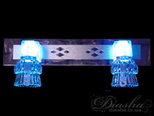 Ярко, насыщенно, эффектно – вот какие качества присущи данной серии светильников направленного света. Представленные здесь светильники являются уникальным решением для акцентной (элементной) подсветки в интерьере – это не только подсветка зеркал, но и картин, и стенных ниш, и особых деталей интерьера. Есть еще одна отличительная особенность. В данной серии все светильники оснащены уникальными миниатюрными энергосберегающими лампами, которые при потребляемой мощности 3-5Вт светят как 20-ти ваттная галогенка.