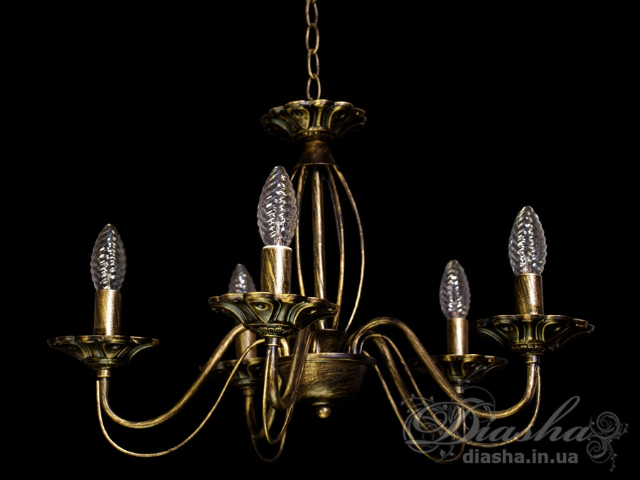 Классическая люстра на 5 свечейЛюстры классика