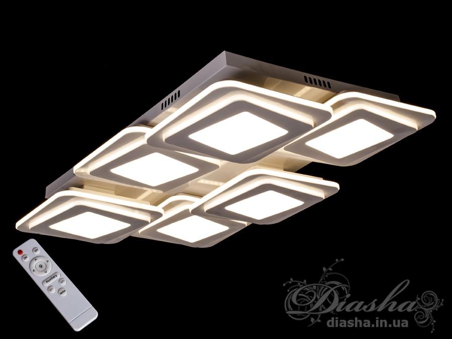 Светильник с регулируемым цветом свечения 210WПотолочные люстры, Светодиодные люстры, светодиодные панели, Люстры LED