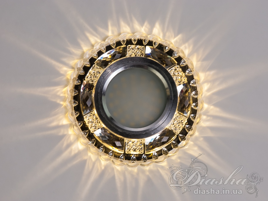 Светильник со встроенной светодиодной подсветкойВрезка, Точечные светильники из оптической смолы,Точечные светильники, Точечные светильники MR-16