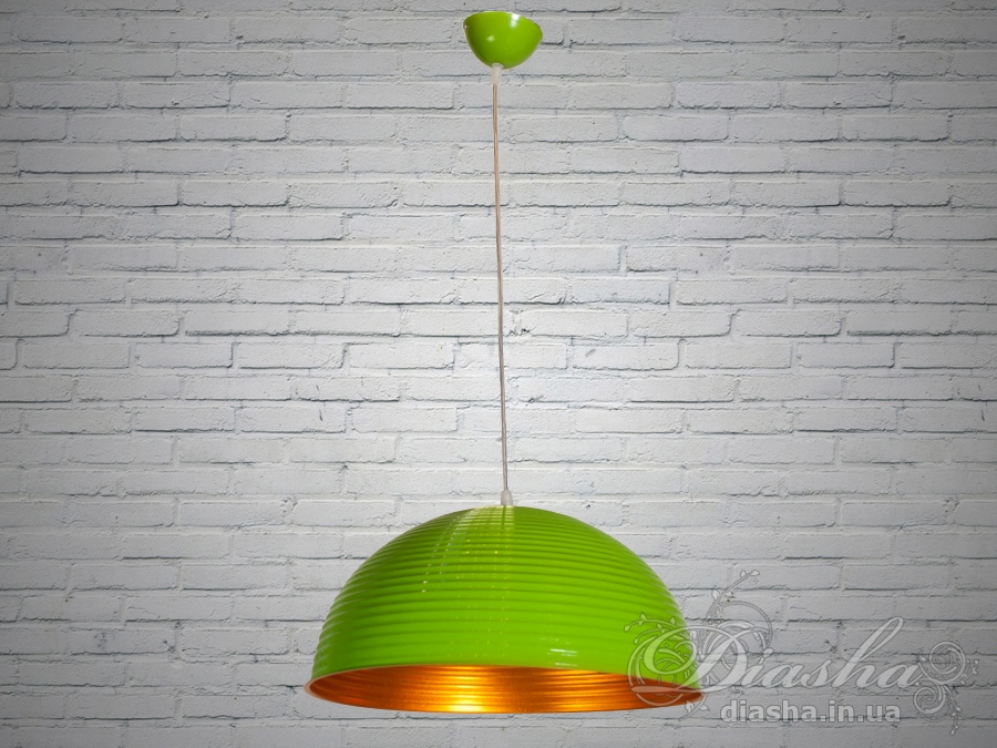 Яркий винтажный светильник-подвес 40смЛюстры кухонные, Подвесы, Минимализм, Винтаж