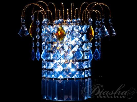 Хрустальное бра<BR>Бра классические, Хрустальные бра, Бра LED, Светодиодные