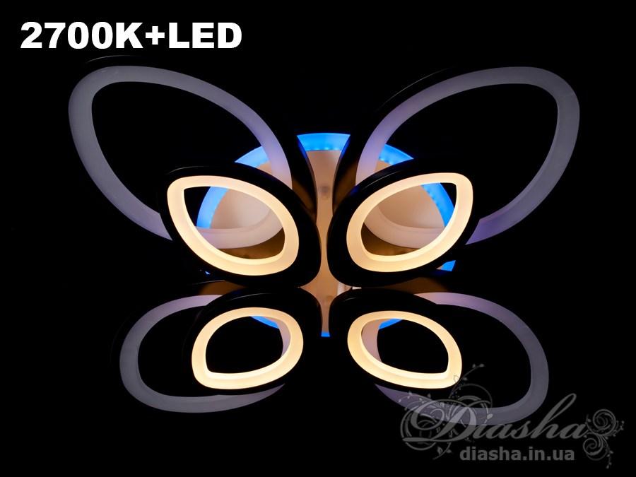 Сверхъяркая светодиодная люстра 240WПотолочные люстры, Светодиодные люстры, Люстры LED, Потолочные