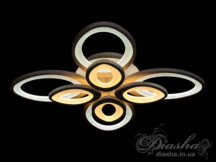 Сверхъяркая светодиодная люстраПотолочные люстры, Светодиодные люстры, Люстры LED, Потолочные