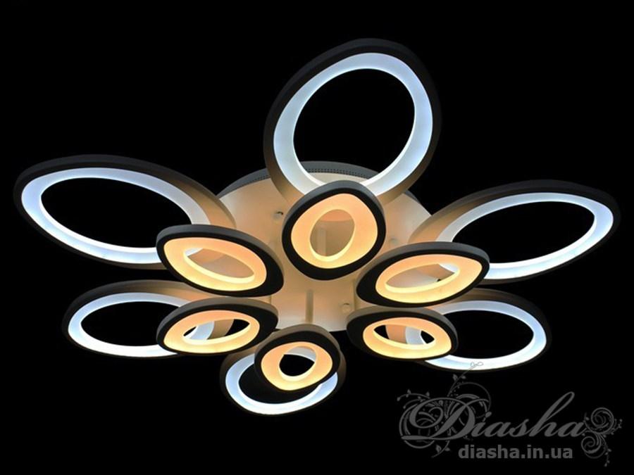 Сверхъяркая светодиодная люстра 220WПотолочные люстры, Светодиодные люстры, Люстры LED, Потолочные, Новинки