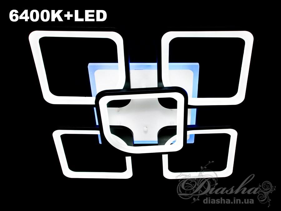 Сверхъяркая светодиодная люстра 155WПотолочные люстры, Светодиодные люстры, Люстры LED, Потолочные, Новинки