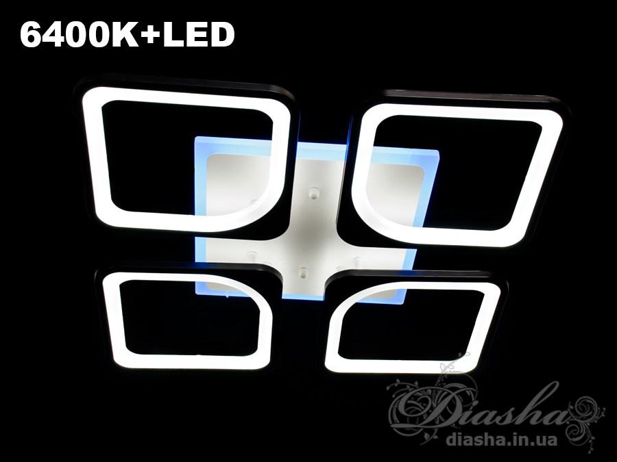Сверхъяркая светодиодная люстраПотолочные люстры, Светодиодные люстры, Люстры LED, Потолочные, Новинки