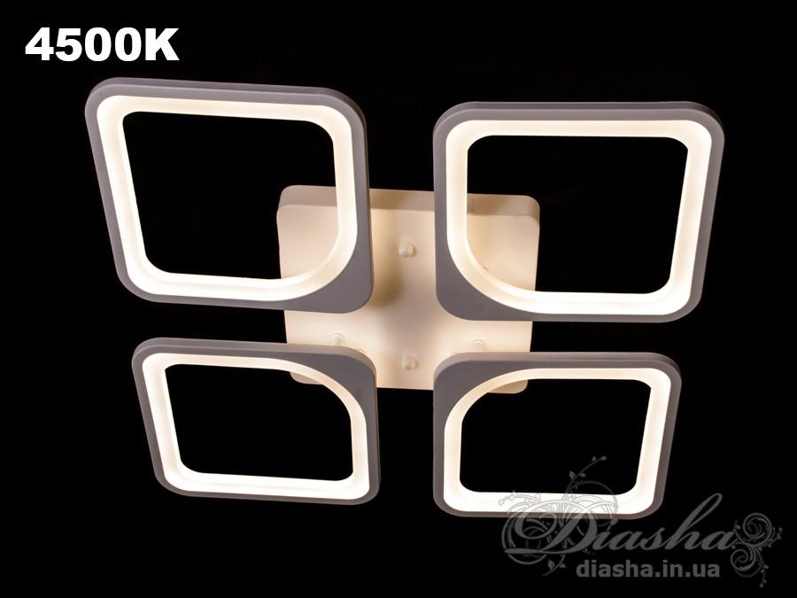 Сверхъяркая светодиодная люстра 110WПотолочные люстры, Светодиодные люстры, Люстры LED, Потолочные, Новинки