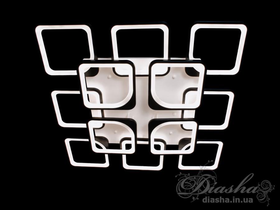 Потолочная LED-люстра с диммером, 300WПотолочные люстры, Светодиодные люстры, Люстры LED, Потолочные, Новинки