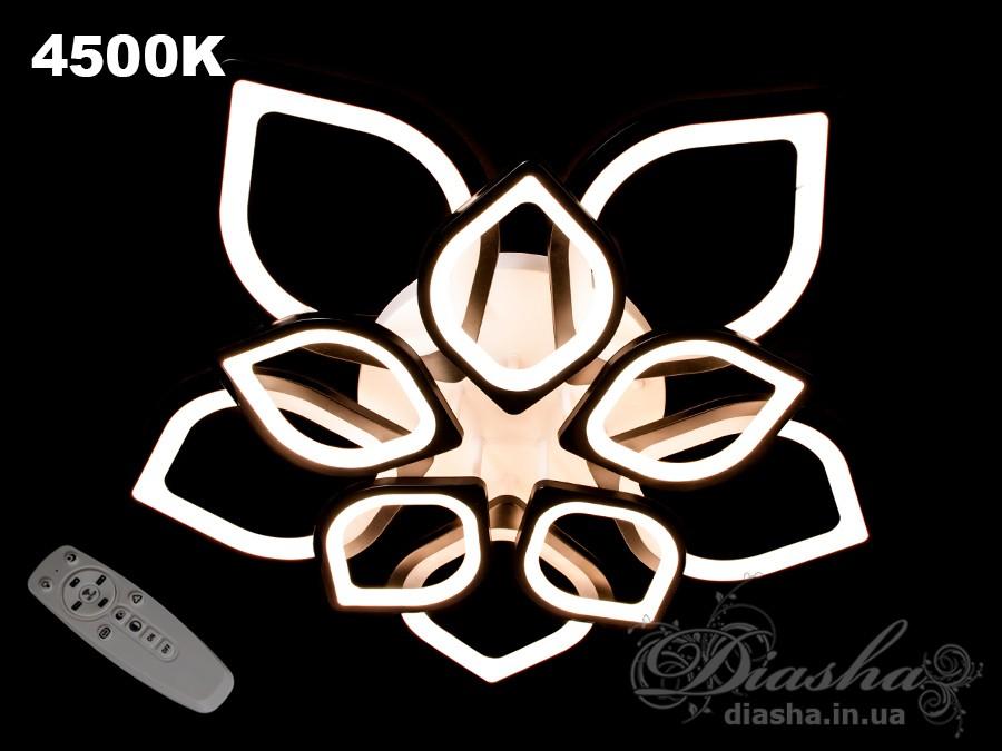 Потолочная LED-люстра с диммером, 210WПотолочные люстры, Светодиодные люстры, Люстры LED, Потолочные, Новинки