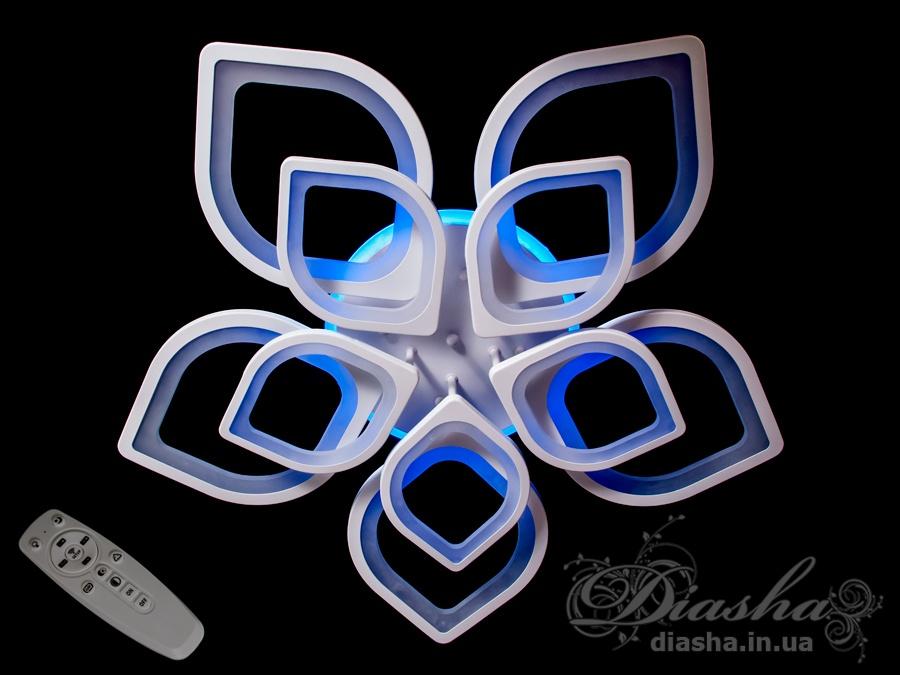 Потолочная LED-люстра с подсветкойПотолочные люстры, Светодиодные люстры, Люстры LED, Потолочные, Новинки