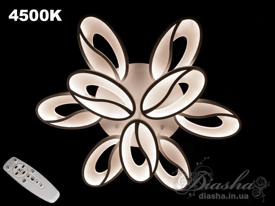 Потолочная LED-люстра с диммером, 90WПотолочные люстры, Светодиодные люстры, Люстры LED, Потолочные, Новинки