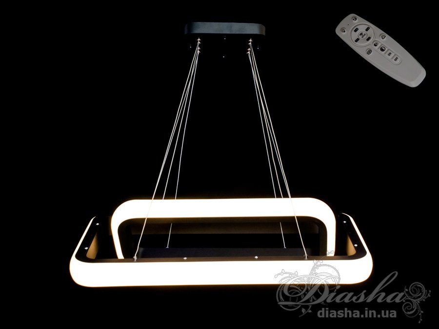 Современная светодиодная люстра с диммером, 55WСветодиодные люстры, Люстры LED, Подвесы LED