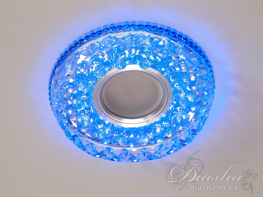 Светильник со встроенной светодиодной подсветкойВрезка, Точечные светильники из оптической смолы,Точечные светильники MR-16, Новинки
