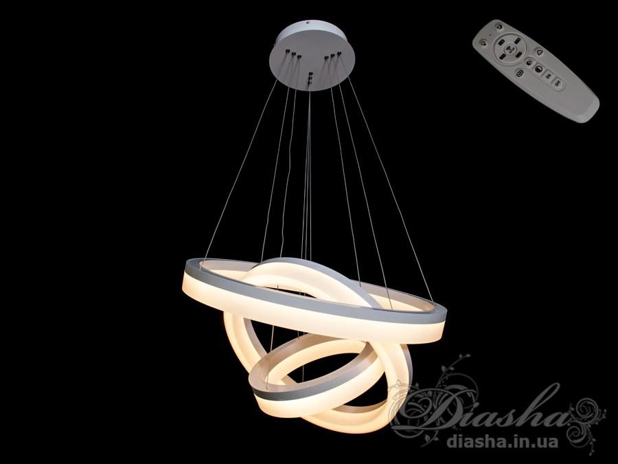 Современная светодиодная люстра с диммером, 70WСветодиодные люстры, Люстры LED, Подвесы LED, Новинки