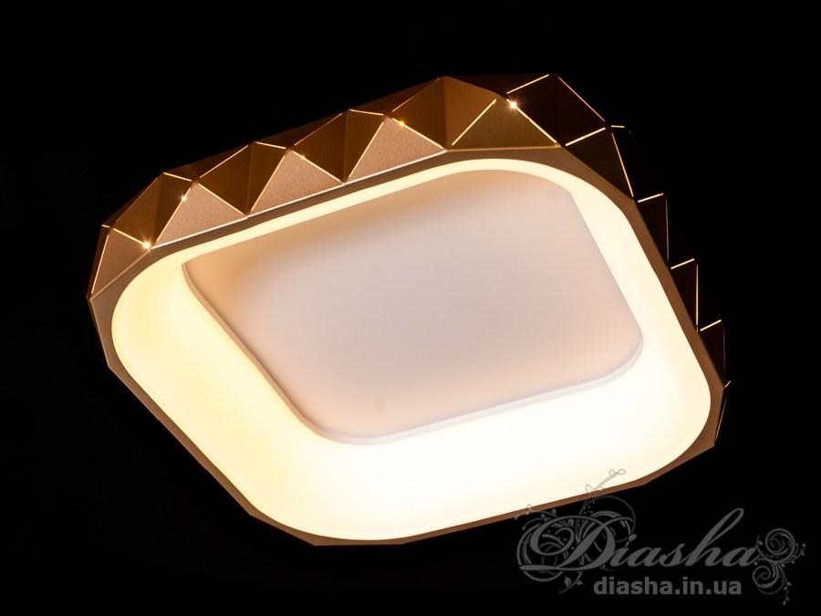 Светильник с регулируемым цветом свечения 50WПотолочные люстры, Светодиодные люстры, светодиодные панели, Люстры LED, Новинки