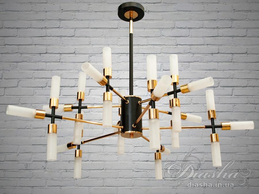 Люстра Loft на 30 лампСветильники