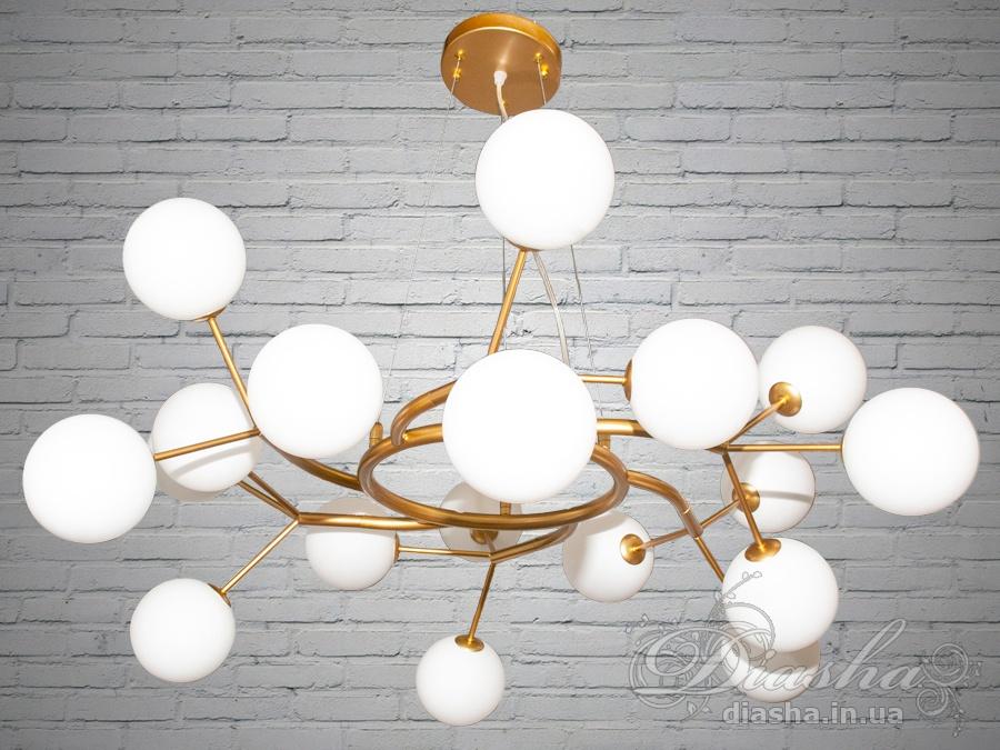 Люстра Loft на 18 лампСветильники