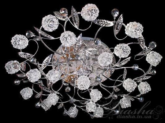Галогенная люстра с LED подсветкойГалогеновые люстры, Модерн, Светодиодные