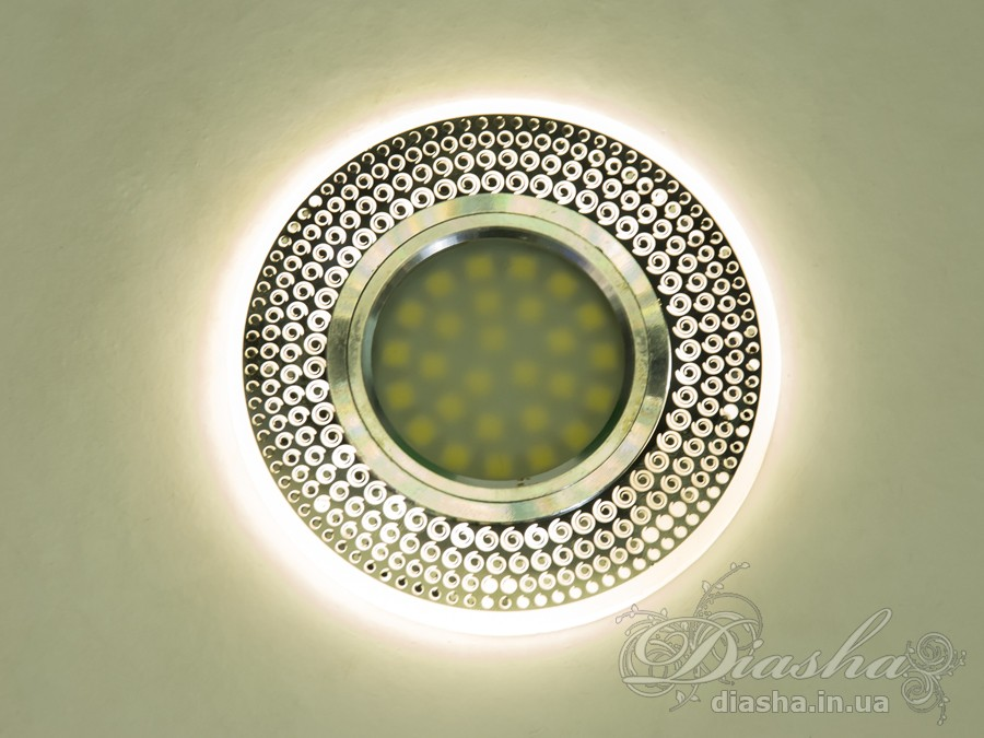 Кришталевий точковий світильникВрезка, Точечные светильники, Точечные светильники MR-16