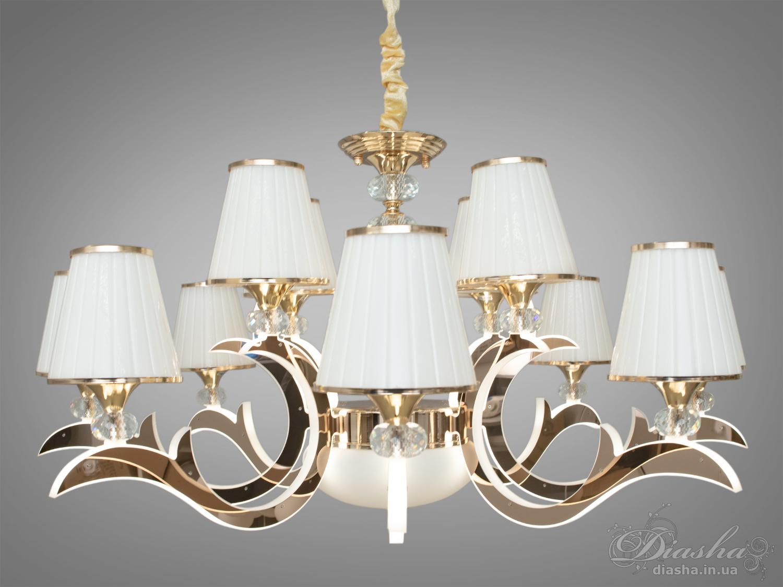 Классическая люстра со светящимися рожками 60WЛюстры классика, Подвесы LED, Новинки