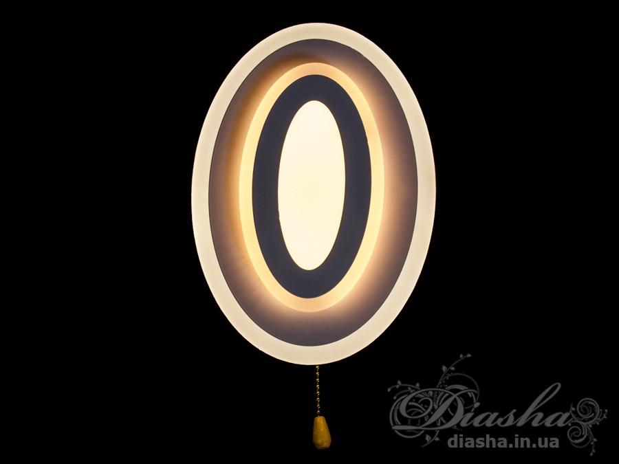 Перед Вами совсем новое и необычное исполнение плафонов, обрамляющих LED лампы. Такое бра запросто подойдет под любой интерьер – классический, современный и даже в стиле «хай-тек». Изящные накладные светодиодные светильники предназначены для создания яркого светодиодного освещения с регулируемой цветовой температурой от тёплого белого до холодного белого. И при этом являться украшением интерьера, а не просто утилитарным светильником как обычная светодиодная панель. Переключение спектров свечения светодиодной панели осуществляется простым выключением-включением. Светодиодный светильник позволяет выбирать режим освещения от времени суток и выполняемых под его светом задач.